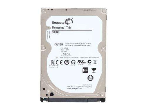 "Seagate ST500LM021 500GB 7200 RPM 32MB Cache SATA 6.0Gb/s 2.5"" Laptop Thin Hard"
