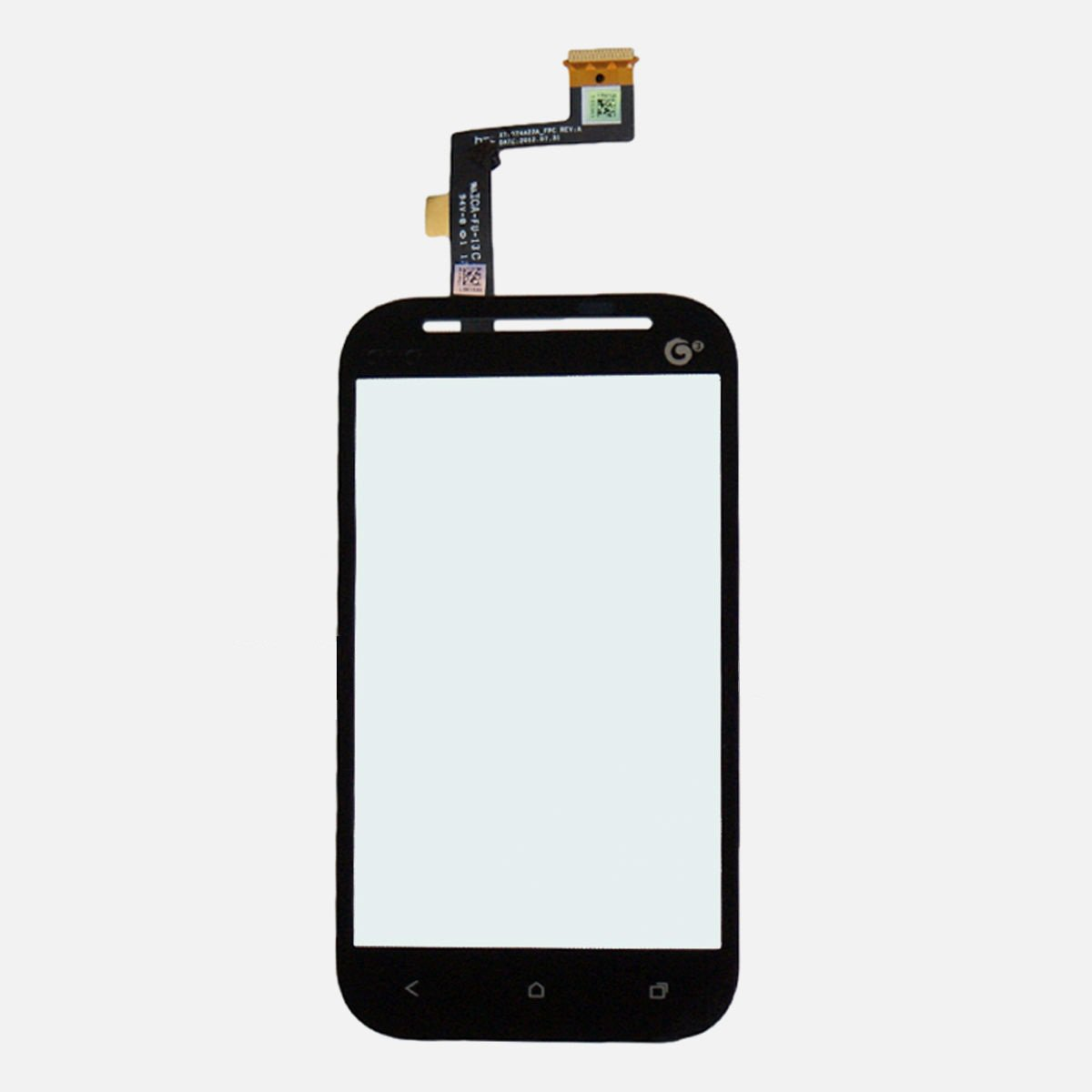 HTC One SV LTE, ST T528T (3G) Outer Glass Digitizer Touch Screen No Camera Hole