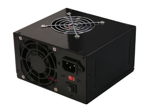 Logisys Computer PS550ABK 550Watts ATX12V Power Supply With SATA and 20/24 Pin connectors