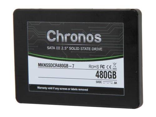 "Mushkin Enhanced Chronos MKNSSDCR480GB-7 2.5"" 480GB SATA III 7mm Internal Solid"