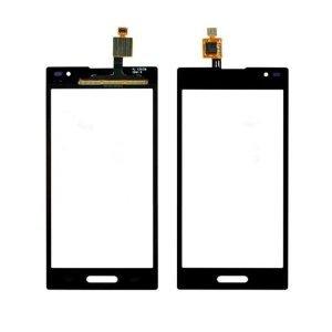Black LG Optimus L9 P769 Touch Glass Lens Panel Outer Screen Digitizer Parts US