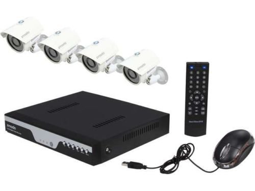 Zmodo KDC4-YARUZ4ZN 4 Channel H.264 Level 960H DVR Security System with 4 x 700T