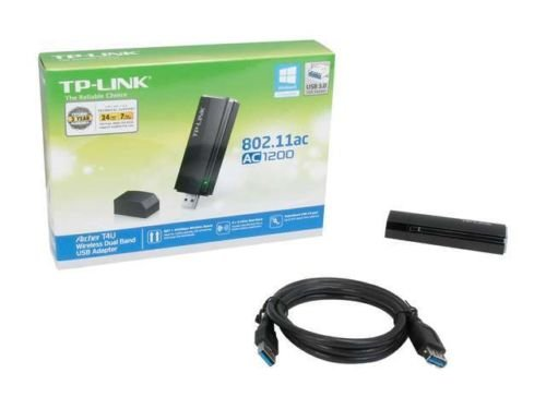 TP-LINK Archer T4U AC1200 Wireless Dual Band USB 3.0 Adapter, 2.4GHz 300Mbps/5Gh