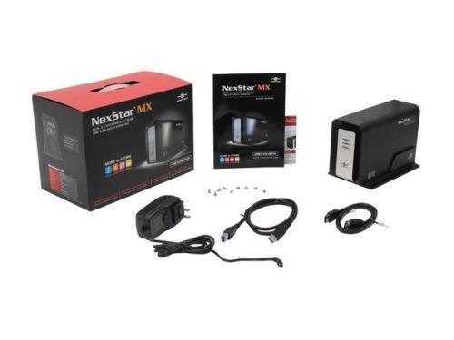 """Vantec NexStar MX Dual Bay 3.5"""" SATA to USB 3.0 / eSATA RAID Enclosure"""
