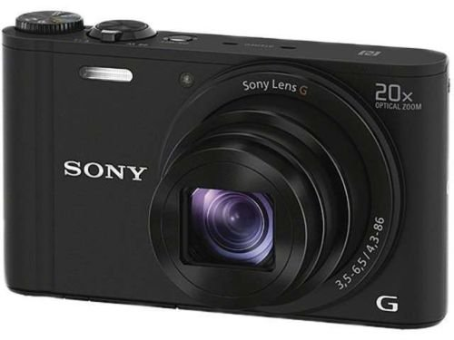New SONY Cyber-shot WX350 DSC-WX350/B Black 18.2 MP 20X Optical Zoom Digital Camera