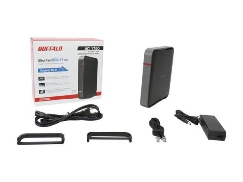 BUFFALO AirStation Extreme AC 1750 Gigabit Dual Band Wireless Router - WZR-1750D