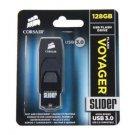 CORSAIR Voyager Slider 128GB USB 3.0 Flash Drive Model CMFSL3B-128GB