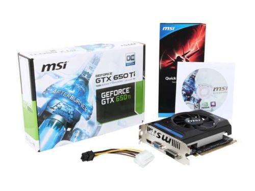 MSI N650Ti-1GD5/OCV4 GeForce GTX 650 Ti 1GB 128-Bit GDDR5 PCI Express 2.0 Video