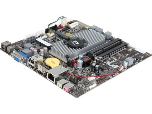 ECS NM70-TI (V1.0A) Intel Celeron 847/807 Intel NM70 Thin Mini-ITX Motherboard/C