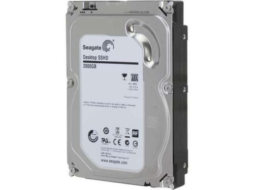 Seagate Desktop Solid State Hybrid Drive ST2000DX001 2TB+8GB 64MB Cache