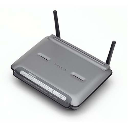 Belkin Dual-Band A+G 108Mbps Wireless Router 802.11a/g