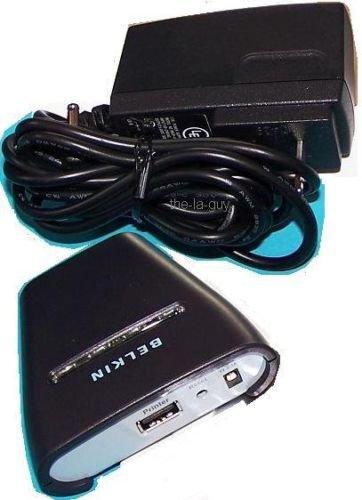 BELKIN Bluetooth Wireless USB Printer Adapter F8T031 NR