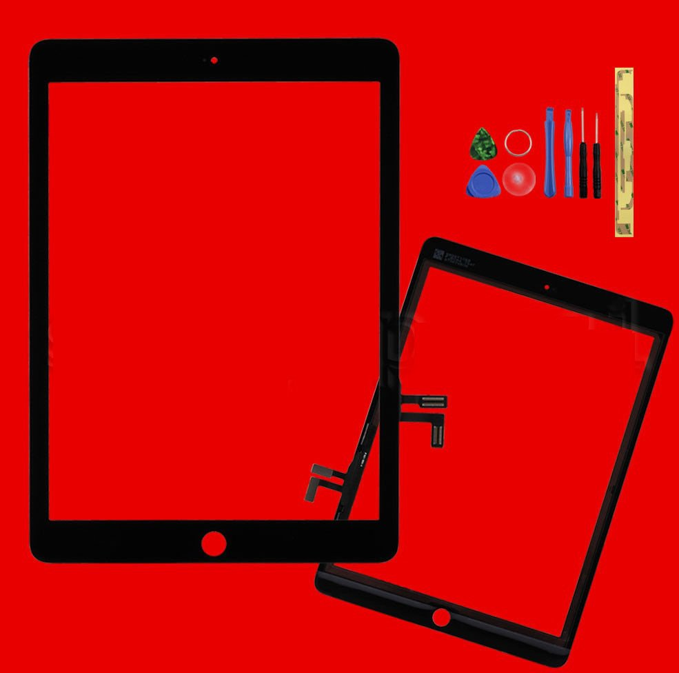 Black Touch Screen Glass Digitizer Lens Replacement For iPad Air A1474 A1475
