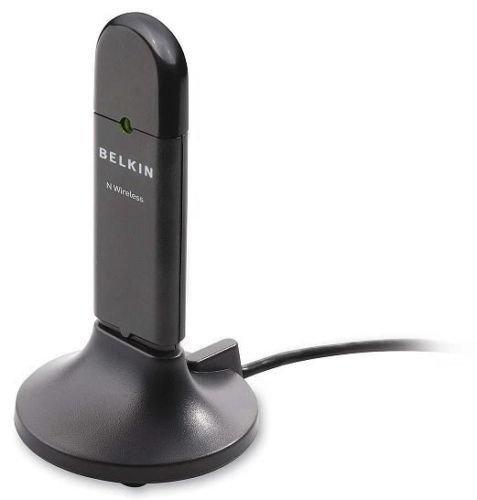BELKIN 802.11n g Wireless N USB Network WiFi LAN Adapter F5D8053 with USB stand