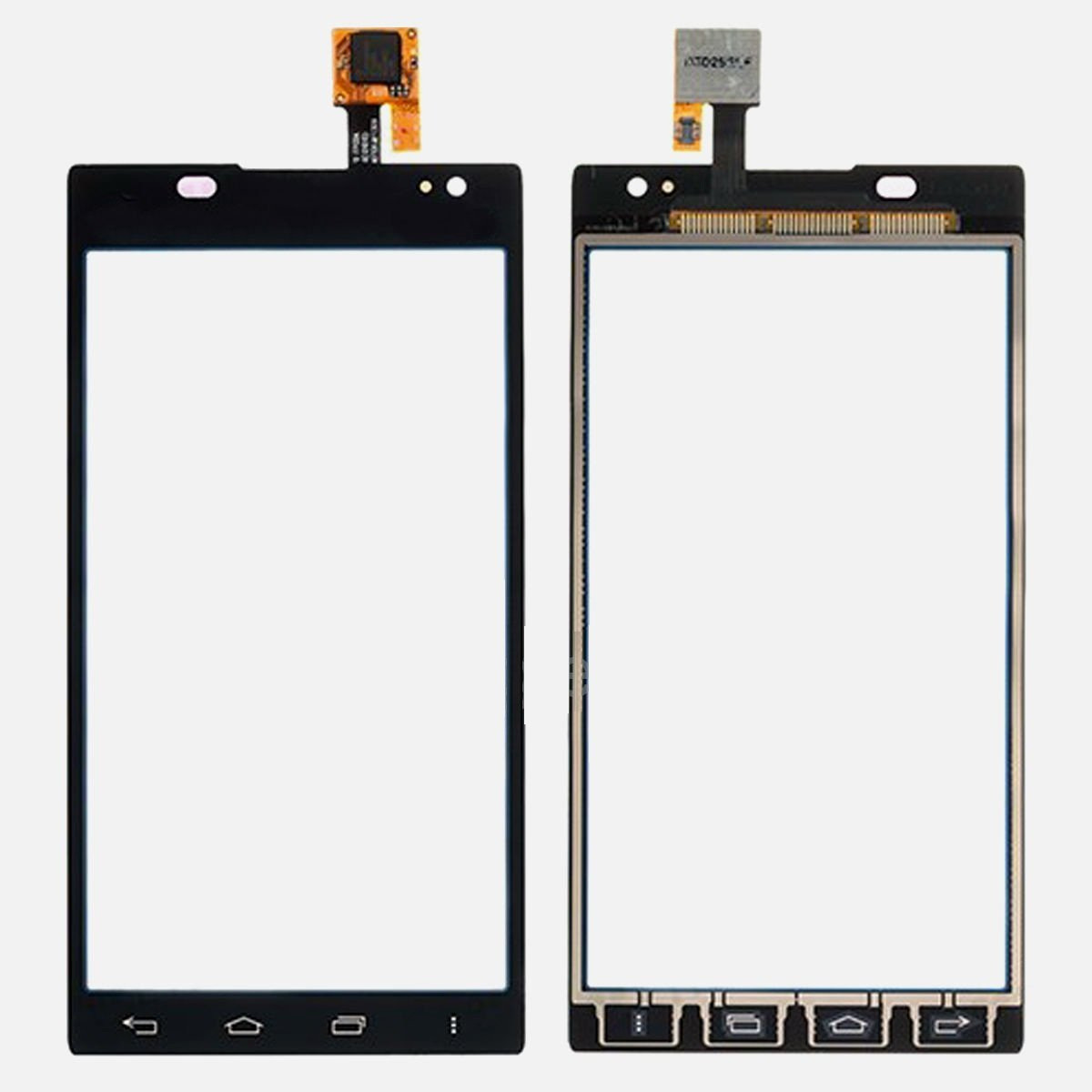 New OEM LG Lucid 2 VS870 Outer Glass Touch Digitizer Lens Panel Screen Parts
