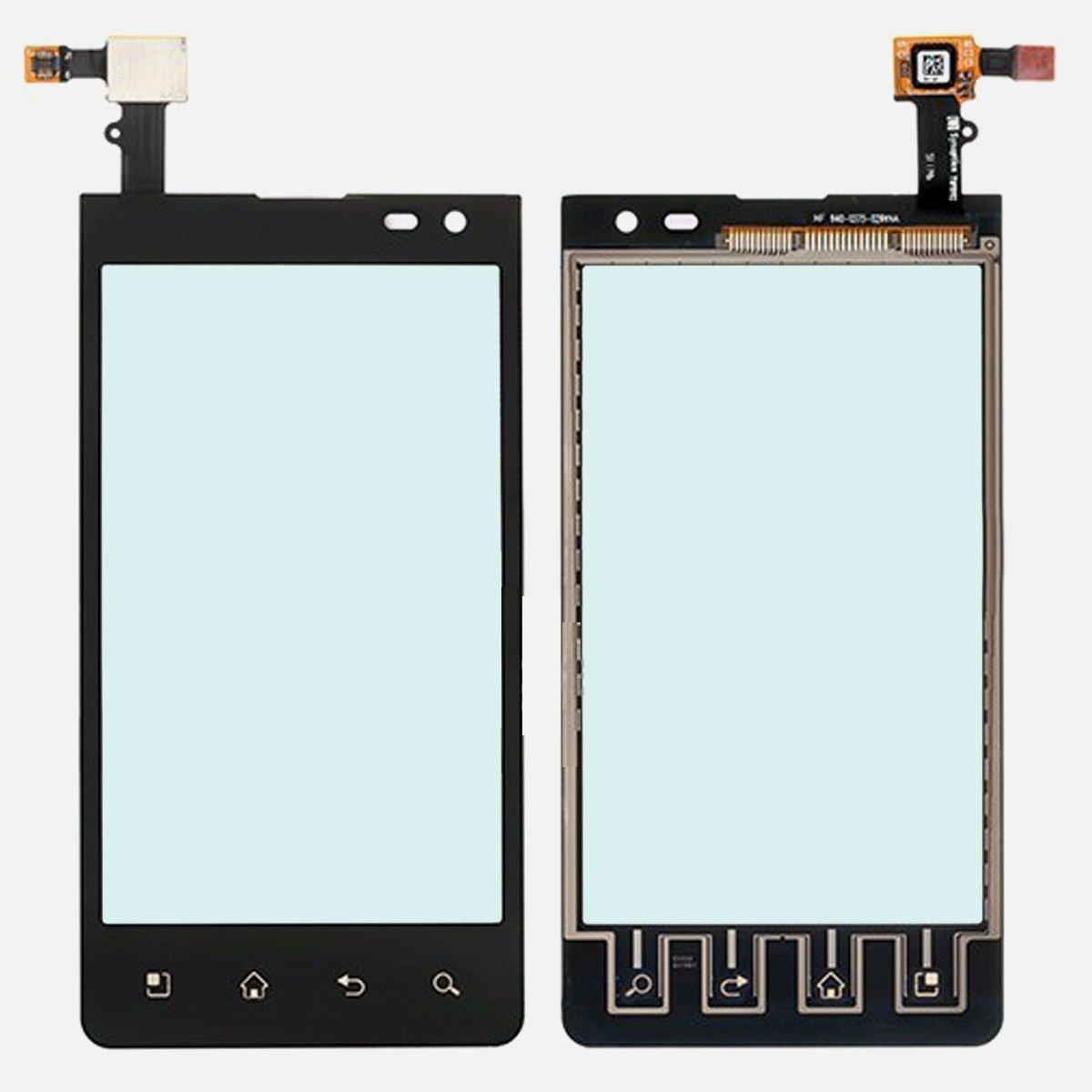 New OEM Verizon LG Lucid VS840 Front Panel Touch Glass Lens Digitizer Screen Part