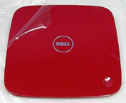 """NEW Dell TNWPF Inspiron 400 Zino HD Top Cover """"Tomato Red"""" with Power Button"""