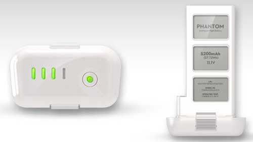 DJI Phantom 2 Vision Battery Spare 5.2A 5200mAH LiPo 11.1V Rechargable RC