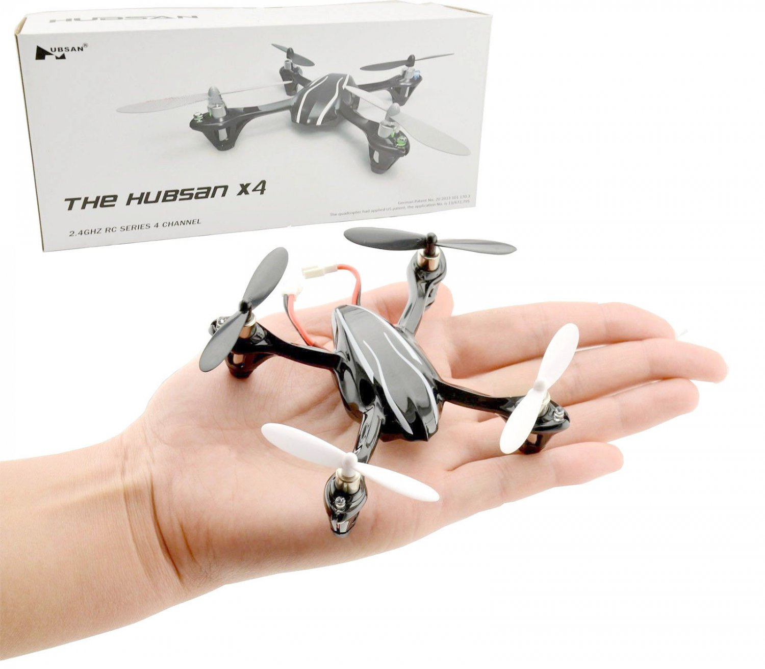 New hubsan x4 h107l quadcopter upgrade version w led for Hubsan x4 h107l motor upgrade