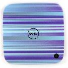 NEW Genuine Dell Inspiron zino Purple Stripes Designers LCD Back Cover LID 476VH