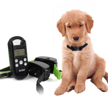 Waterproof Remote Small/Med Dog Training Shock Vibrate Collar Trainer Safe F Pet
