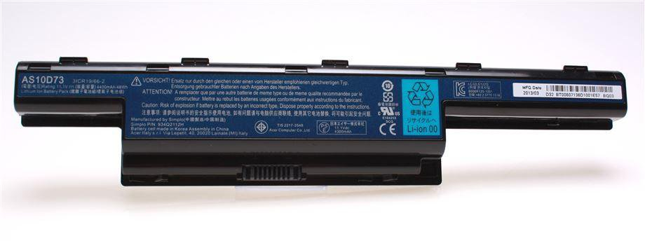 New Genuine Acer TravelMate P243-M P243-MG P453-M Laptop Battery 6 Cell