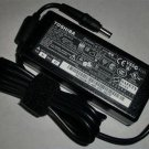 New Genuine Toshiba Satellite A200 A205 A215 A80 A85 Ac Adapter Charger 65W