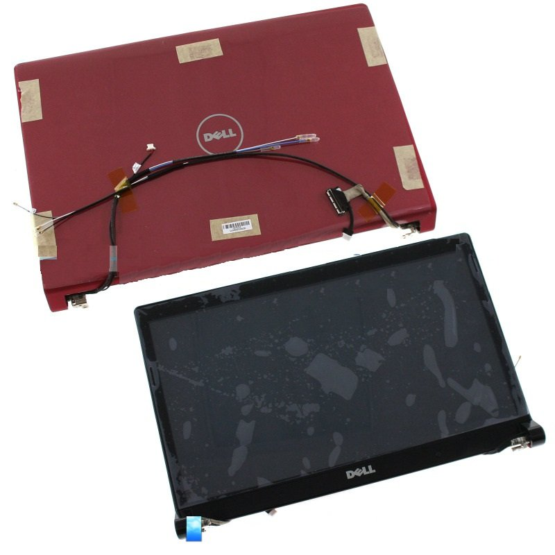 NEW Dell Studio 1555 1557 1558 15.6 RED LCD Screen+Cover+Bezel Complete Assembly