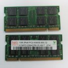 2GB(2 x 1GB Sticks) Memory Ram For Dell Latitude D420, D520, D530, D531, D620,
