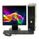 OEM Dell Optiplex Dual Core 4 GB RAM Desktop CPU With 17 inch LCD Screen