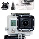 Waterproof Housing Case Underwater Cover + Glass Lens for Gopro Hero 3 3+ Camera