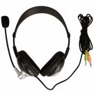New Ear-Cup YH-440 3.5mm Multimedia Headset Headphone with Microphone