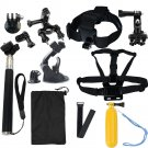 Head strap Mount Floating Monopod Combo Kit Accessories For GoPro 1 2 3+ Camera