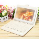 "IRULU 10.1"" New Android 4.2 Tablet Dual Core Cam 32GB HDMI White w/ Keyboard Case"