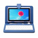 """IRULU eXpro X1 Violet 7"""" Tablet PC Android 4.2 Dual Core 8GB w/ Blue Keyboard"""