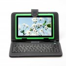 "IRULU eXpro X1 Green 7"" Tablet PC Android 4.2 Dual Core 8GB w/ Black Keyboard"