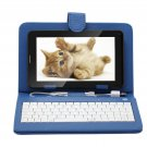 "IRULU 7"" Tablet PC Android 4.2 2G GSM Phablet 16GB WiFi Dual Cam w/Blue Keyboard"