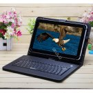 """iRulu eXpro X1s 10.1"""" Tablet PC Android 4.4 Quad Core 16GB w/Black Keyboard"""
