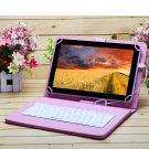 """iRulu eXpro X1s 10.1"""" Tablet PC Android 4.4 Quad Core 16GB w/Pink Keyboard"""
