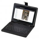 "IRULU 9"" Black Tablet PC 16gb Android 4.2 Dual Core and Camera w/Black Keyboard"
