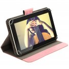 """IRULU 9"""" Tablet PC 16GB Android 4.2 Dual Core/Camera 800x480 WiFi w/Pink Case"""