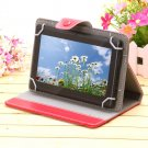 "iRulu 7"" Black Tablet PC 8GB Android 4.2 Dual Core Cam A23 1.5 GHz w/RED Case"