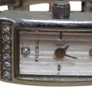 "Women's Fossil ES-1510 Quartz Watch Silver Analog 8"" Long"