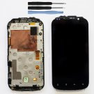 New HTC Amaze 4G LCD Touch Screen Digitizer Assembly Frame Replacement w/Tools