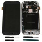 Samsung Galaxy S4 L720 i545 Blue Touch Screen Digitizer LCD Assembly Frame