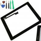 New Black Touch Screen Glass Lens Digitizer Assembly for Apple iPad 3 3rd Gen with Home Button Tools