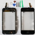 New Mid Frame Digitizer Bezel Touch Screen Glass Replacement for iPhone 3Gs