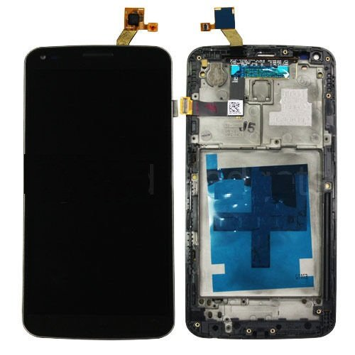NEW LG G Flex D950 D955 D958 Touch Screen Digitizer LCD Display Frame Assembly