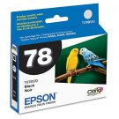 Epson 78 Black Ink Cartridge for Stylus Photo Series