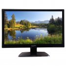 "New Vizta V24LMH Black 24"" LED 1080P HD Monitor Speakers HDMI VGA VESA mount"